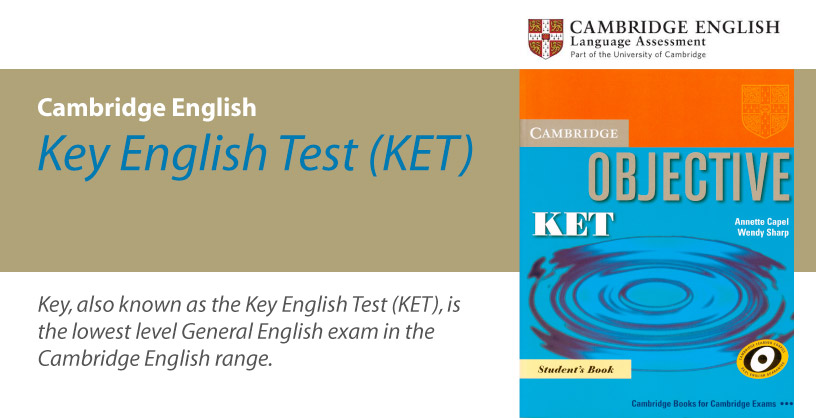 Cambridge English (KET) - Key English Test