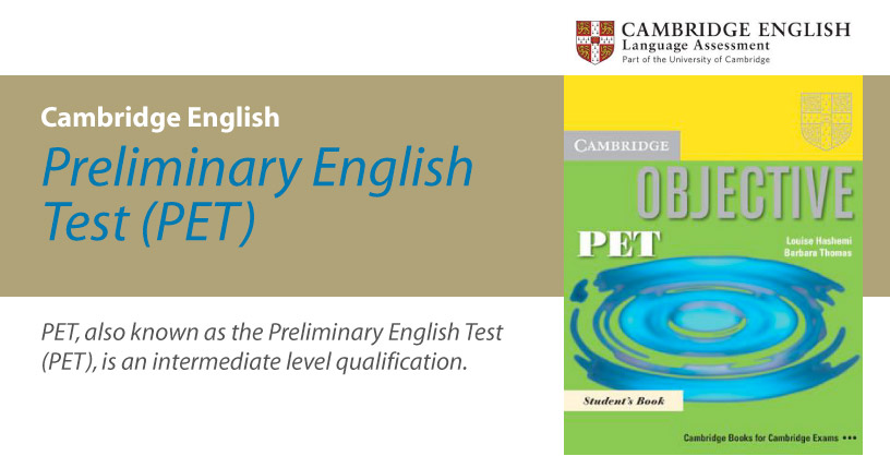 Cambridge English (PET) - Preliminary English Test